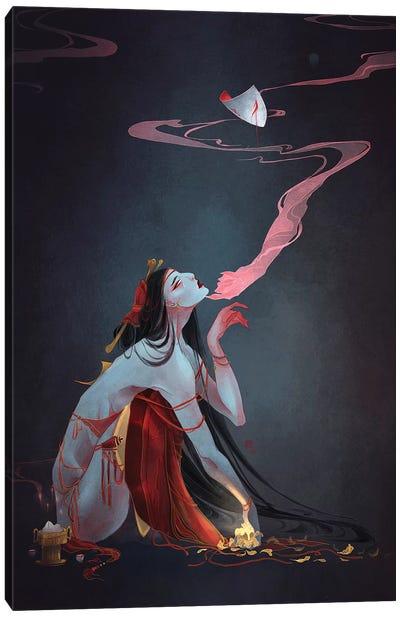 Forbidden Prayer Canvas Art Print