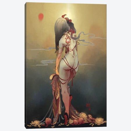 Heaven Canvas Print #YYU12} by Art of Yayu Art Print