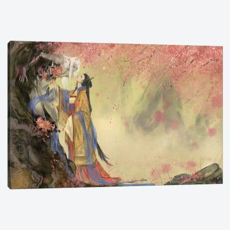 I'm In Love I: Spring Canvas Print #YYU13} by Art of Yayu Canvas Print