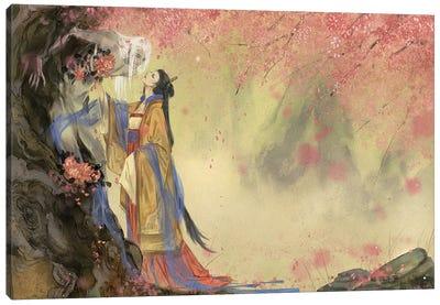 I'm In Love I: Spring Canvas Art Print