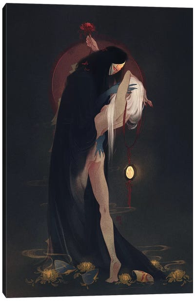 Into The Shadows Canvas Art Print