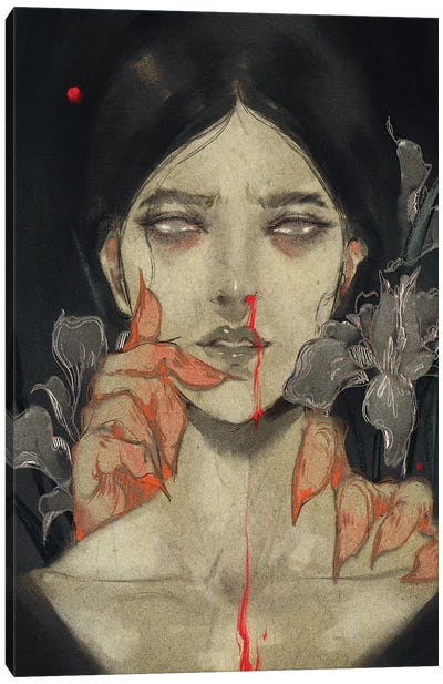 Iris Of Iris Canvas Art Print