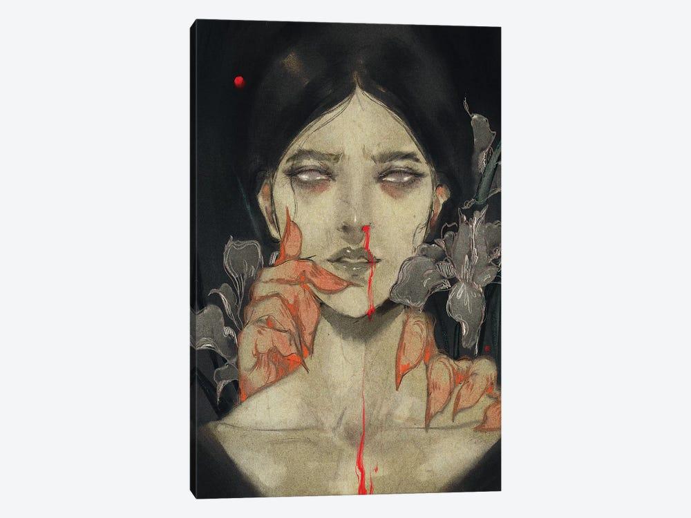 Iris Of Iris by Art of Yayu 1-piece Canvas Artwork