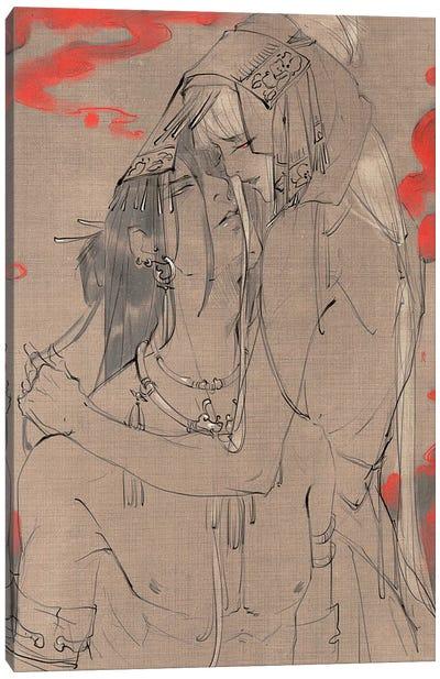 Lovers Gaze Canvas Art Print