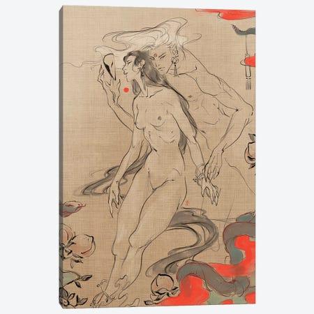 Masking Inno Canvas Print #YYU19} by Art of Yayu Art Print