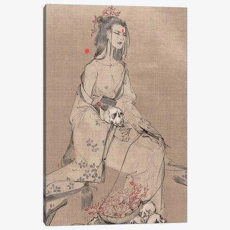 Quiet Companions Canvas Print #YYU25} by Art of Yayu Canvas Print