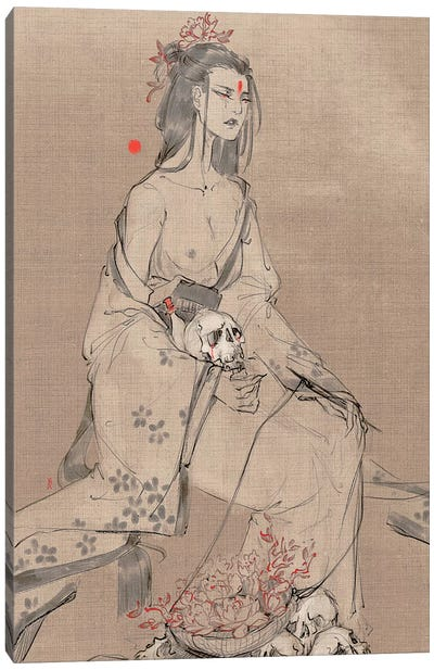 Quiet Companions Canvas Art Print