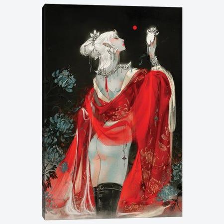 Sins I: Vanity Canvas Print #YYU27} by Art of Yayu Art Print