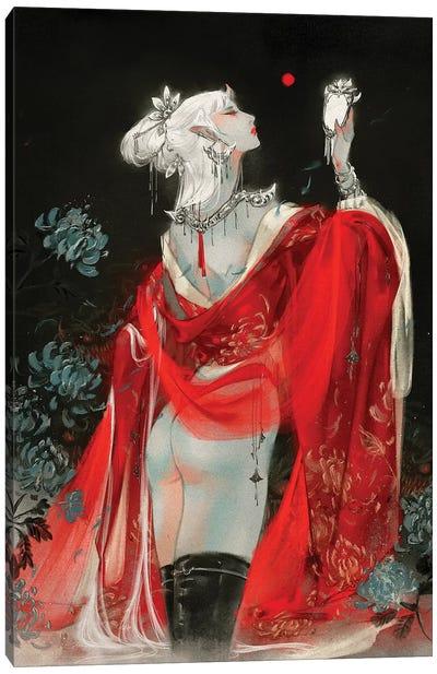 Sins I: Vanity Canvas Art Print