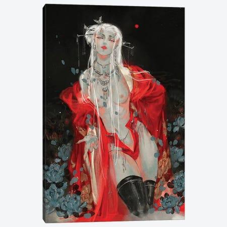 Sins II: Lust Canvas Print #YYU28} by Art of Yayu Canvas Artwork