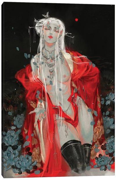 Sins II: Lust Canvas Art Print