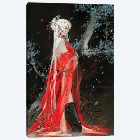 Sins III: Envy Canvas Print #YYU29} by Art of Yayu Canvas Art