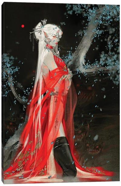 Sins III: Envy Canvas Art Print
