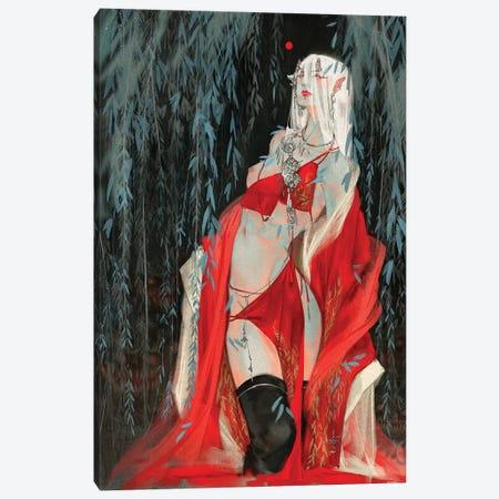 Sins IV: Sloth Canvas Print #YYU30} by Art of Yayu Canvas Art Print