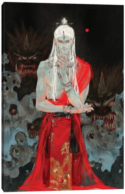 Sins VI: Wrath Canvas Art Print