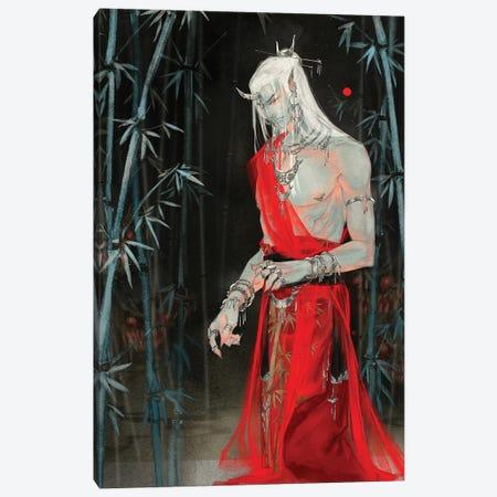 Sins VII: Greed Canvas Print #YYU33} by Art of Yayu Canvas Print