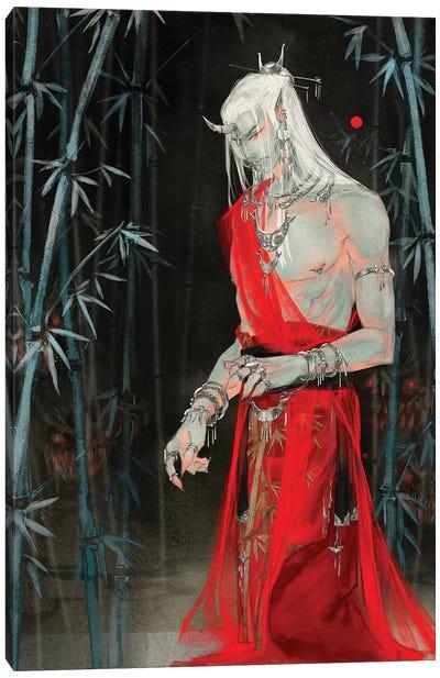Sins VII: Greed Canvas Art Print