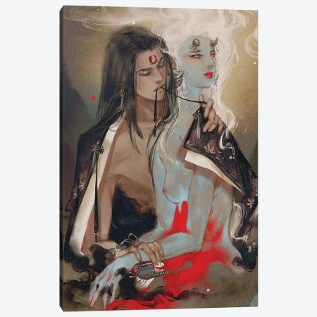 Sweet Autumn Canvas Print #YYU35} by Art of Yayu Canvas Art