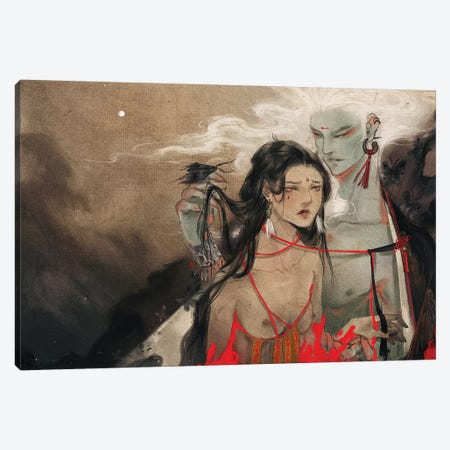 Threshold Canvas Print #YYU36} by Art of Yayu Canvas Art