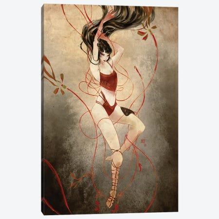 Woven Canvas Print #YYU39} by Art of Yayu Canvas Print