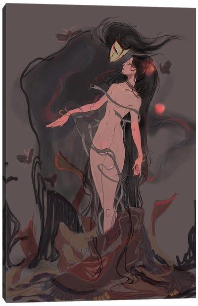 Nightmare In Slumberland Canvas Art Print