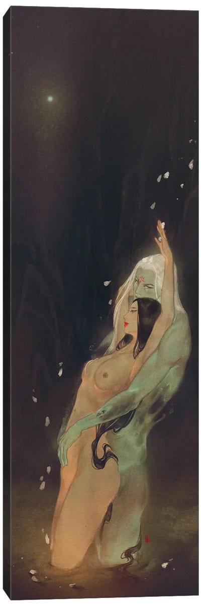 River'S Romance Canvas Art Print