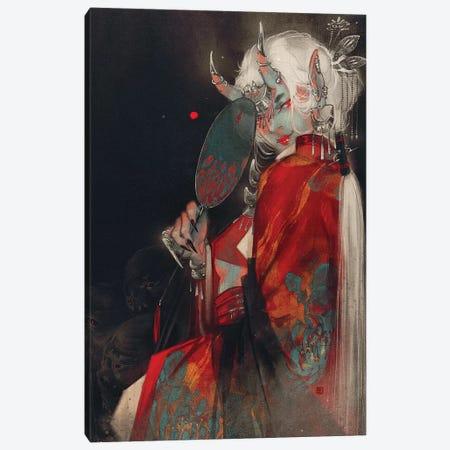 Alluring Canvas Print #YYU4} by Art of Yayu Canvas Wall Art