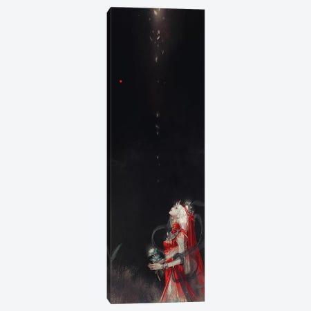 Eternal Bride Canvas Print #YYU6} by Art of Yayu Canvas Artwork