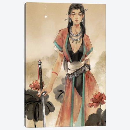 For The Gods Canvas Print #YYU9} by Art of Yayu Art Print