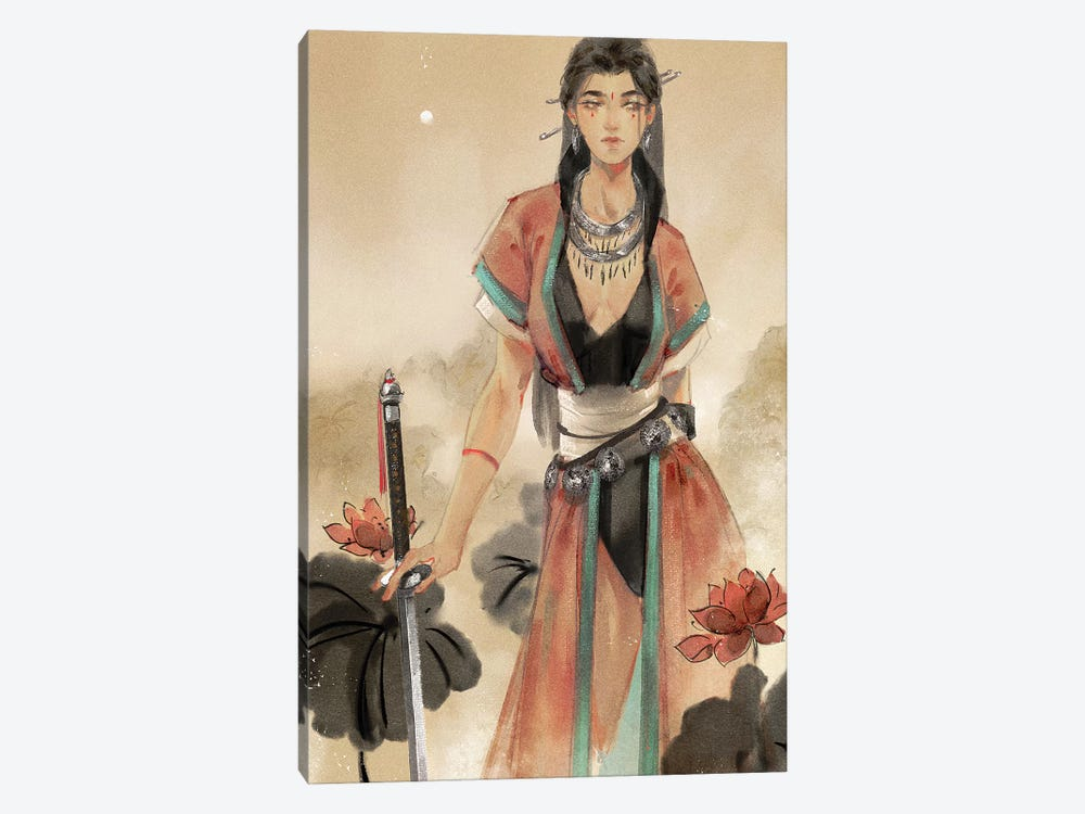 For The Gods by Art of Yayu 1-piece Art Print