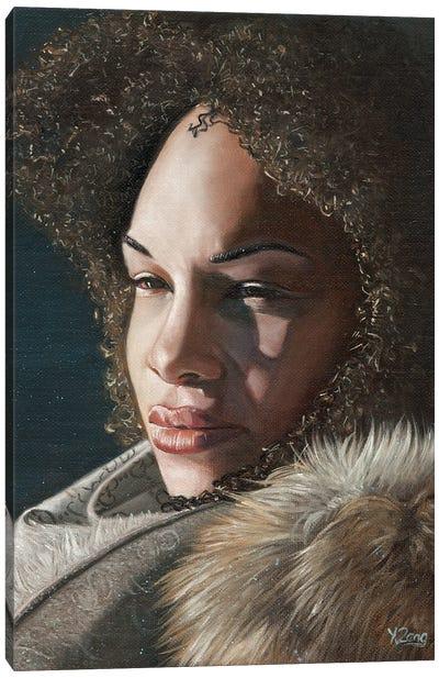 Girl Portrait Canvas Art Print