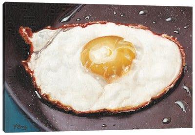 One Fried Egg Canvas Art Print