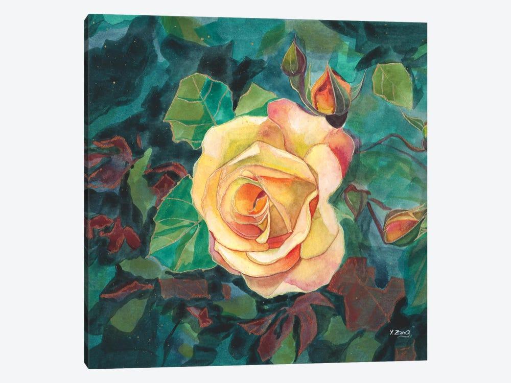 Yellow Roses by Yue Zeng 1-piece Art Print