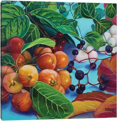 Fall/Autumn Theme Canvas Art Print