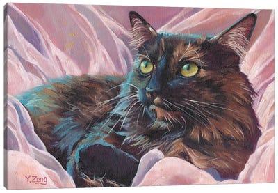 Naomi Pet Portrait Canvas Art Print