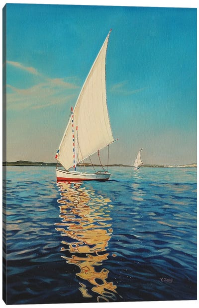 Sail Boat Canvas Art Print