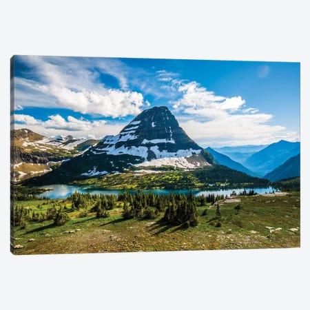 Hidden Lake, Glacier National Park, Montana Canvas Print #YZK1} by Yitzi Kessock Art Print