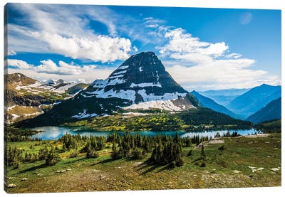 Hidden Lake, Glacier National Park, Montana Canvas Art Print