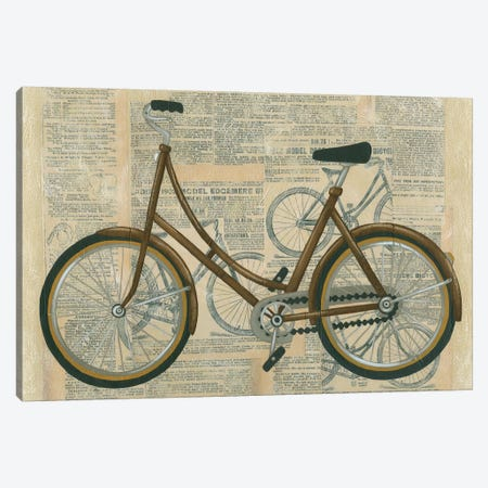 Tour By Bicycle II Canvas Print #ZAR10} by Chariklia Zarris Canvas Artwork