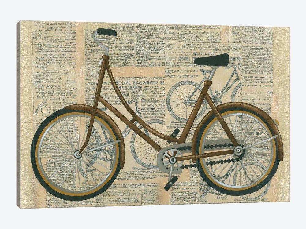 Tour By Bicycle II by Chariklia Zarris 1-piece Art Print