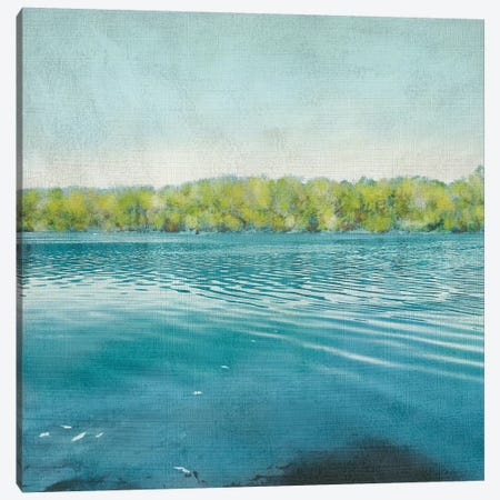 Flat Water I Canvas Print #ZAR111} by Chariklia Zarris Canvas Artwork