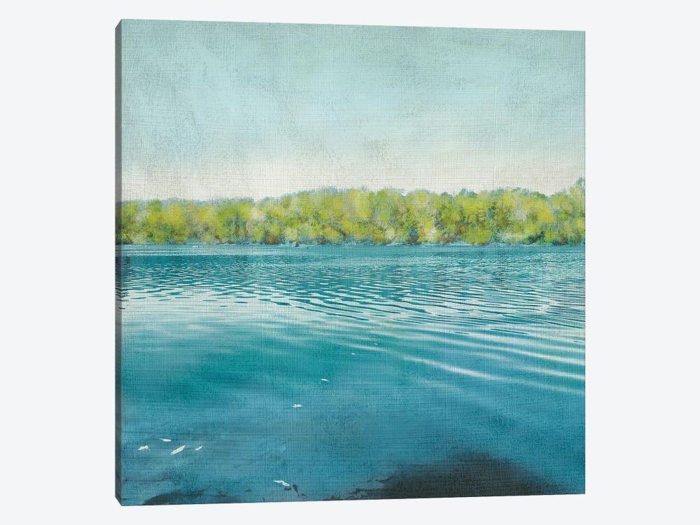 Flat Water I by Chariklia Zarris 1-piece Canvas Art Print