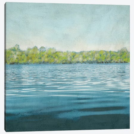 Flat Water II Canvas Print #ZAR112} by Chariklia Zarris Canvas Wall Art