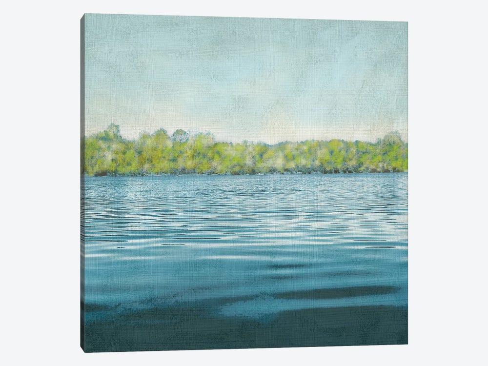 Flat Water II by Chariklia Zarris 1-piece Canvas Wall Art
