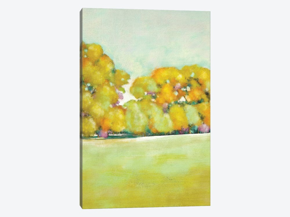 Golden Landscape I by Chariklia Zarris 1-piece Canvas Art Print