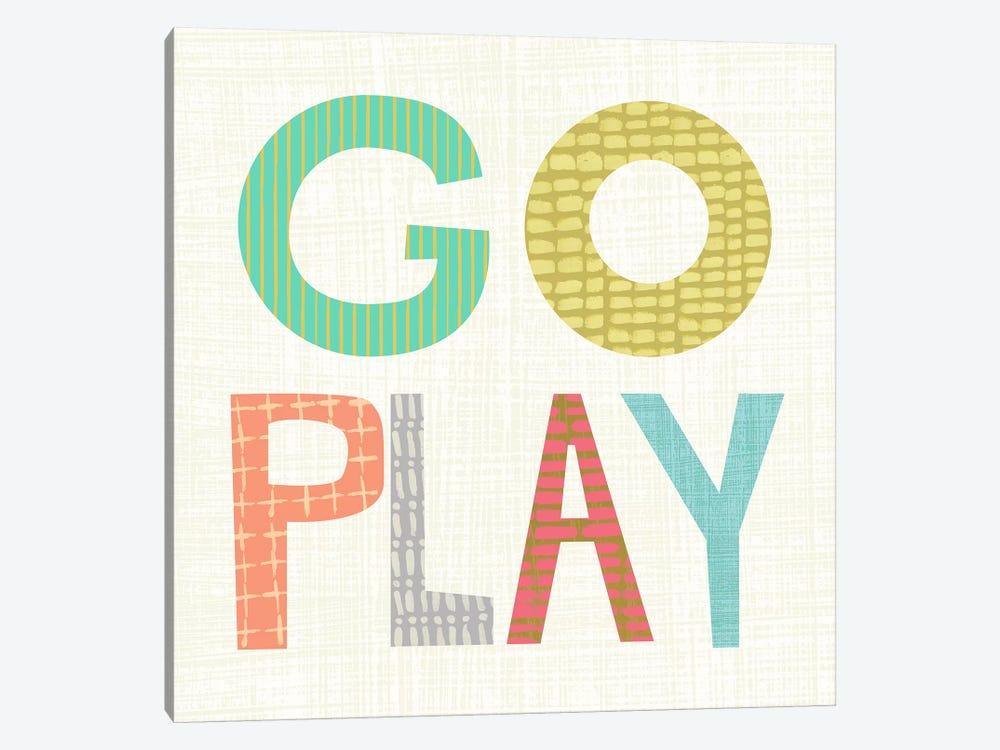 Kid Play III by Chariklia Zarris 1-piece Canvas Art Print