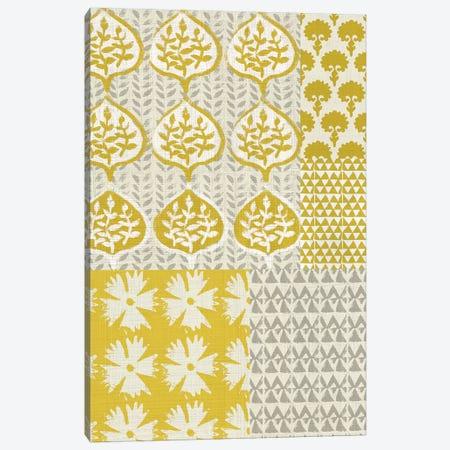 Marigold Patterns I Canvas Print #ZAR121} by Chariklia Zarris Art Print