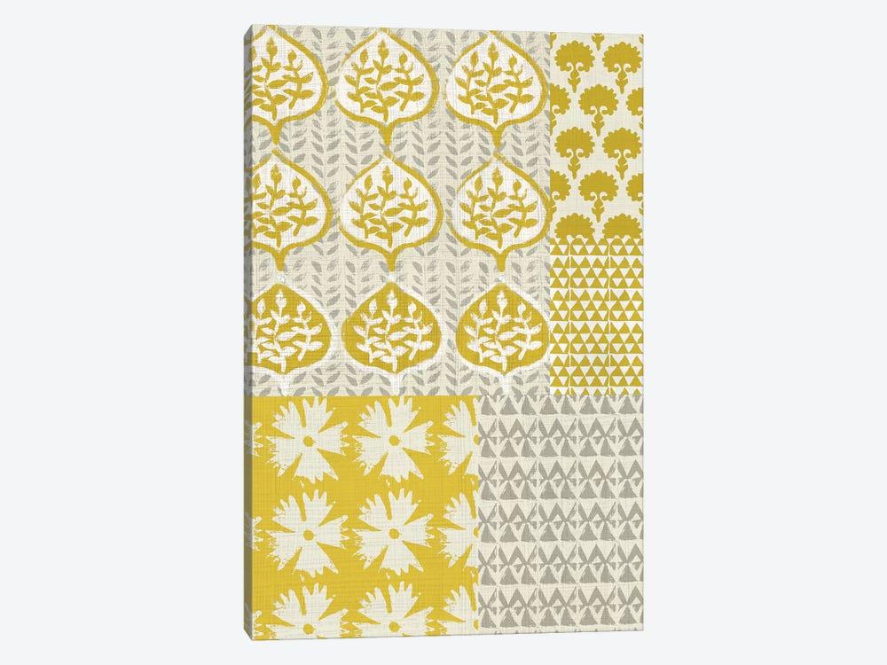 Marigold Patterns I by Chariklia Zarris 1-piece Canvas Wall Art