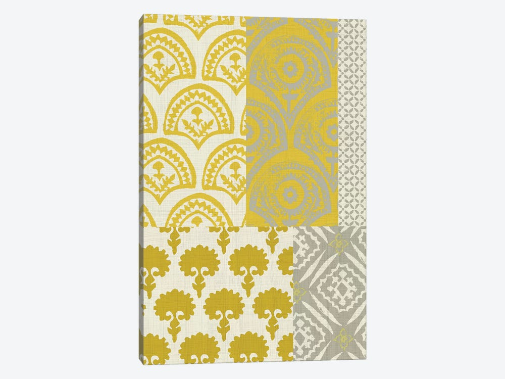 Marigold Patterns II by Chariklia Zarris 1-piece Canvas Art Print