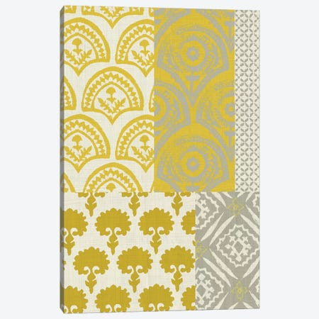 Marigold Patterns II 3-Piece Canvas #ZAR122} by Chariklia Zarris Canvas Art Print